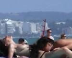 2 sluts on the beach of Mallorca