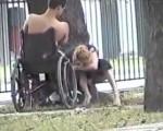 His caregiver is a slut