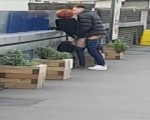 Caught fucking at trainstation
