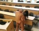 Classroom sex caught on tape