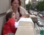 New York girls going wild