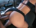 Huge dick in her ass