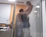 Boss licks intern