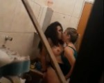 Girls busted fingering eachother